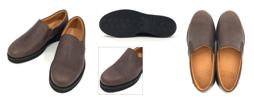#001 Slip-on Shoes